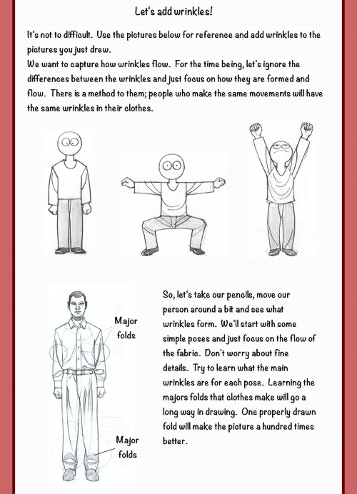 How to draw Clothes by Seiichi Nakamura, translated by Joel D