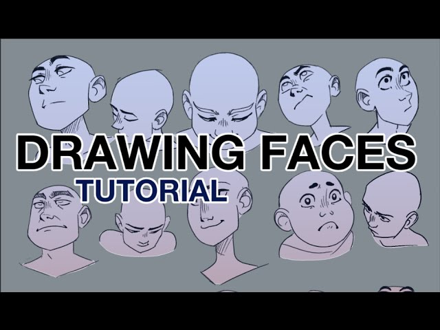 Drawing faces from dificult angles by babakinkin